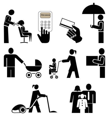 Menschen-Icons