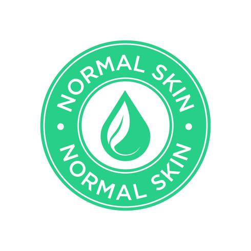 Normal skin icon.