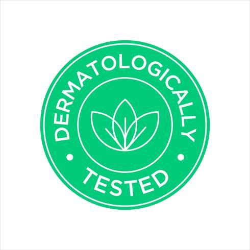 Icône testée dermatologiquement