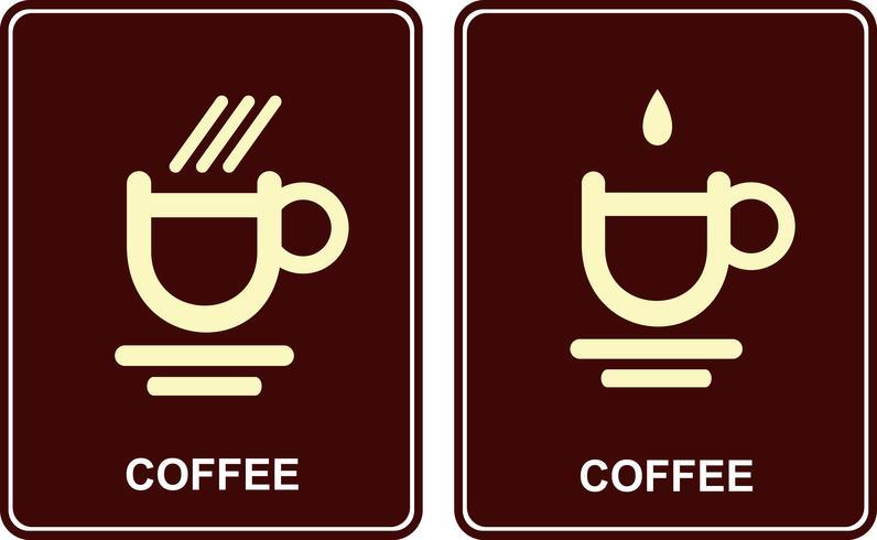 Taza de café - icono de vector