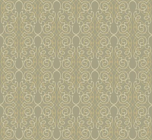 Patrón abstracto sin fisuras Remolino retro línea adorno.