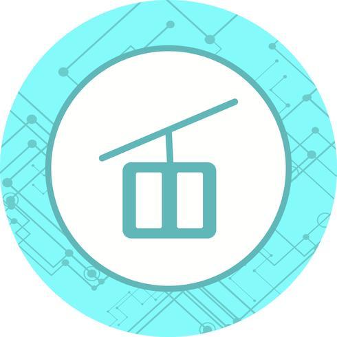 Chair lift Icon Design