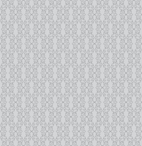 Abstract seamless pattern. Retro swirl line ornament.