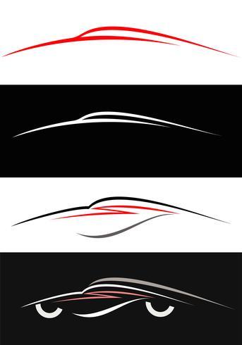 Ícones de carros modernos