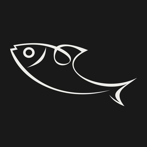 Ícone de peixe do mar