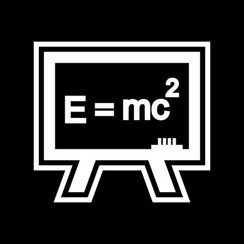 Design de ícone de fórmula vetor