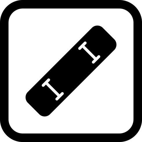 skate board pictogram ontwerp vector