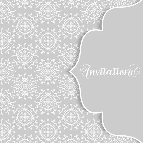 Elegante decoratieve patroonachtergrond vector
