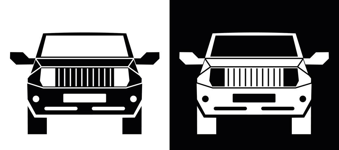 Geländewagen-Symbol