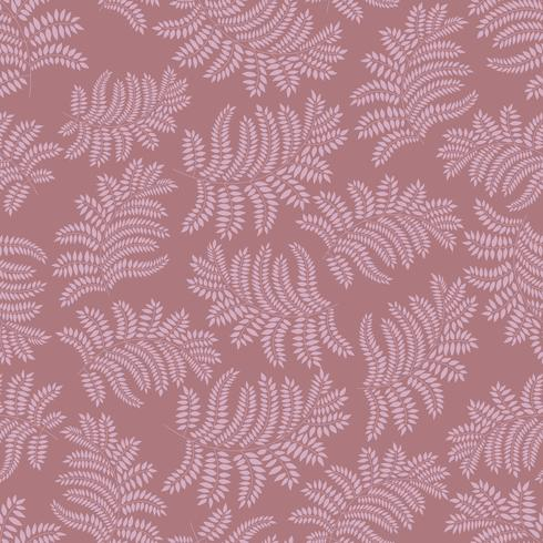 Floral seamless pattern. Leaf retro backdrop vector