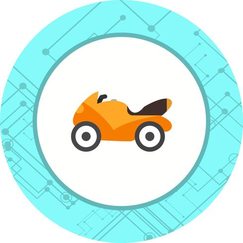 zware fiets pictogram ontwerp vector