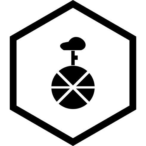 Diseño de iconos de monociclo