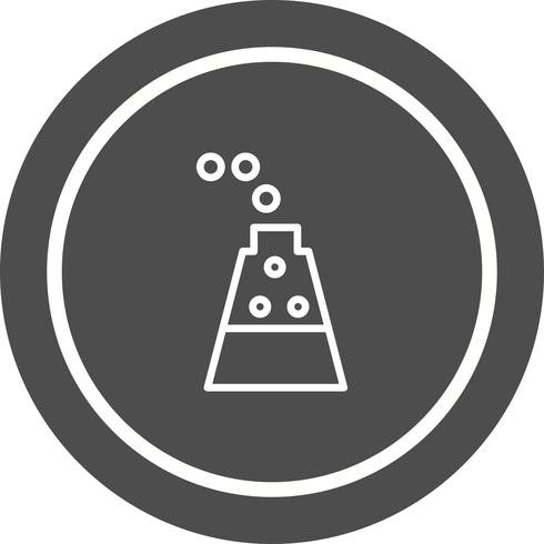 Diseño de iconos de experimento vector