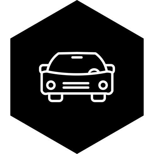 Auto pictogram ontwerp