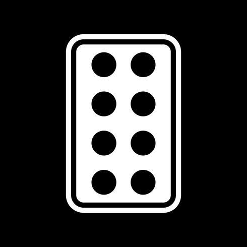 Disegno dell'icona di compresse