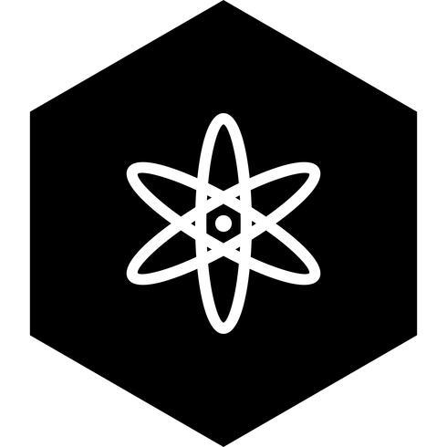 Atom Icon Design vector