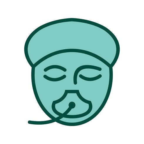 Design de ícone de anestesia