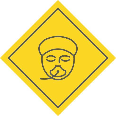 Diseño de iconos de anestesia vector