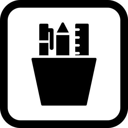 Diseño de icono de papelería