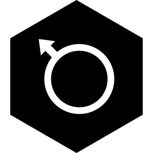 Conception d'icône masculine