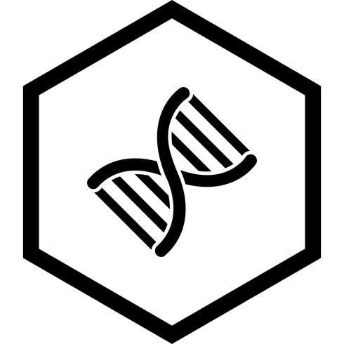 Projeto de ícone de genética vetor