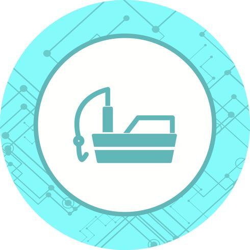 Fishing Boat Icon Design
