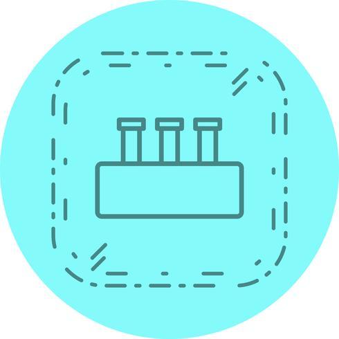 Chemie Set pictogram ontwerp