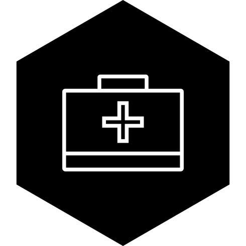 första hjälpen box icon design