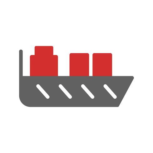 Conception d'icône de navire