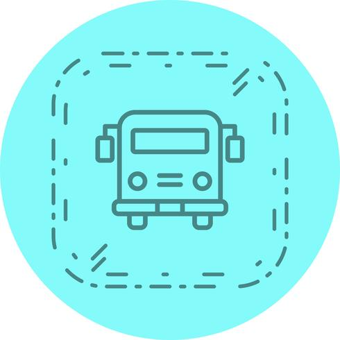 Ônibus escolar ícone Design