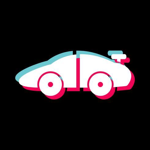 Sports Car Icon Design