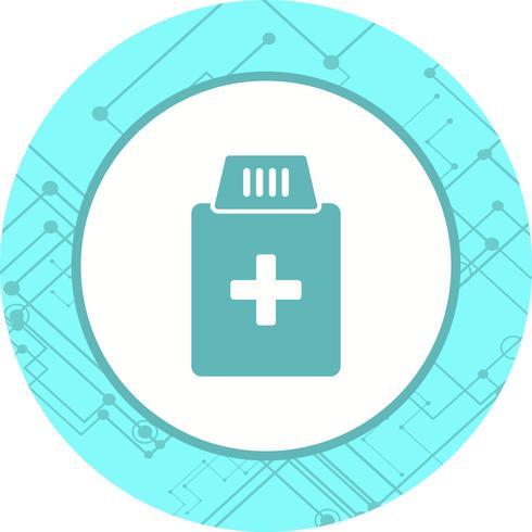 Medicin Flaska Ikon Design