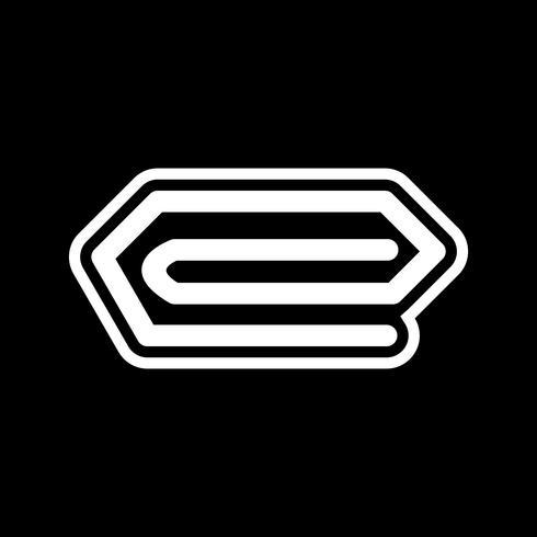 icona pin design vettore