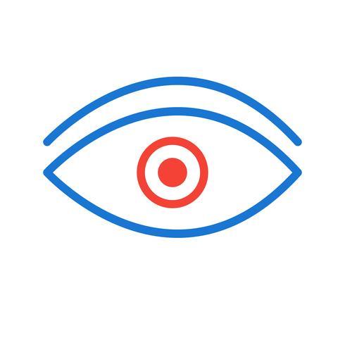 Desenho de ícone de olho
