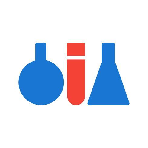 Tubes à essai Icon Design vecteur