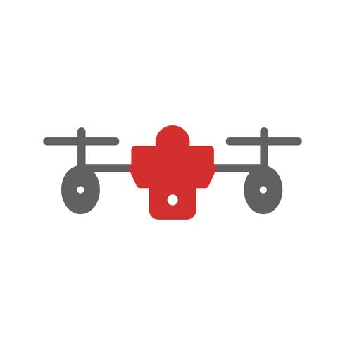 diseño de icono de drone vector