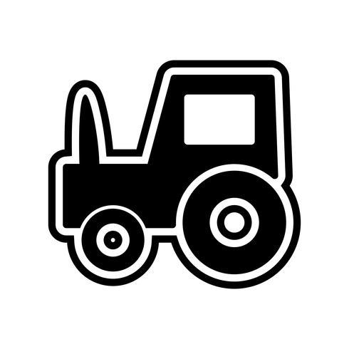 Trator ícone Design