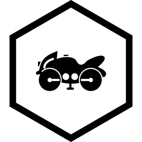 Disegno dell'icona della bici pesante