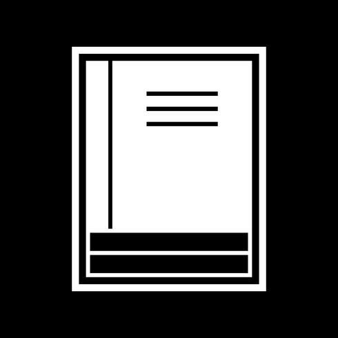 Boeken Icon Design vector