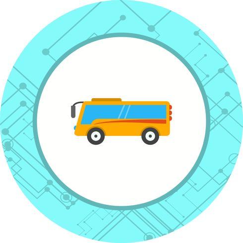Diseño de ícono de autobús