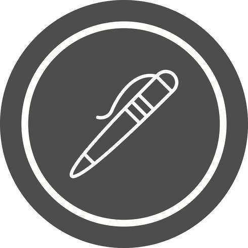 Design de ícone de caneta vetor