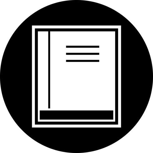 Boek pictogram ontwerp