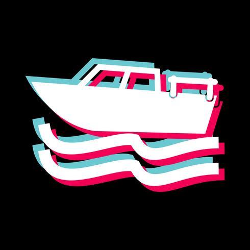 Disegno dell'icona della barca
