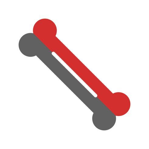 Knochen Icon Design
