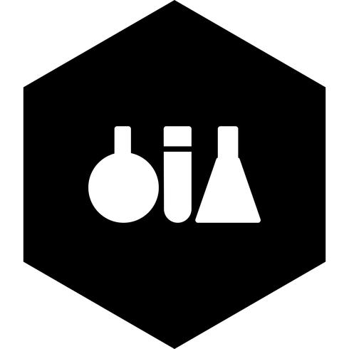 Design de ícone de tubos de ensaio