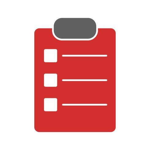 Diseño de lista de iconos