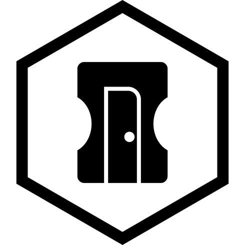disegno dell'icona di affilatrice