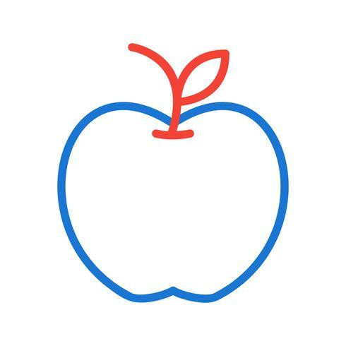 design d'icône pomme