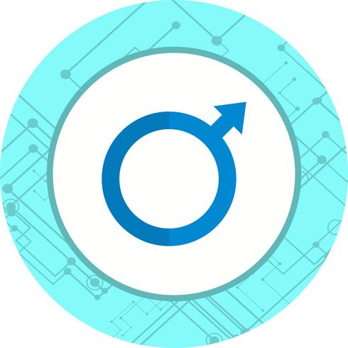 Mannelijk pictogram ontwerp