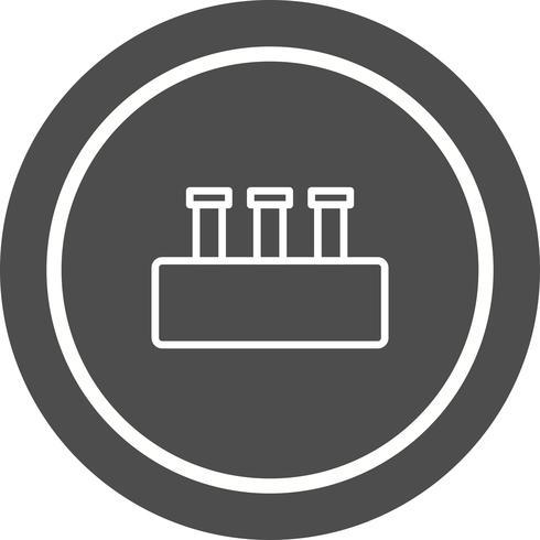 Design de ícone do conjunto de química